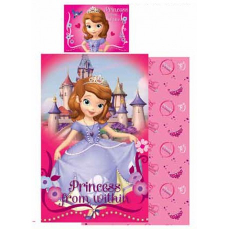 Sofia the first cot bed bedding set