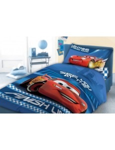 Cars cot bed bedding set