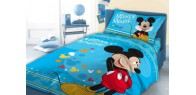 Mickey Mouse  cot bed bedding set