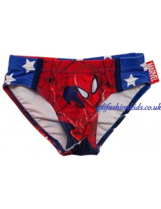 SPIDERMAN BOYS SWIM TRUNKS