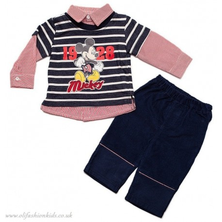 BABY MICKEY MOUSE OUTFIT
