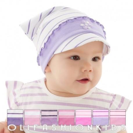 Baby girls flower hat
