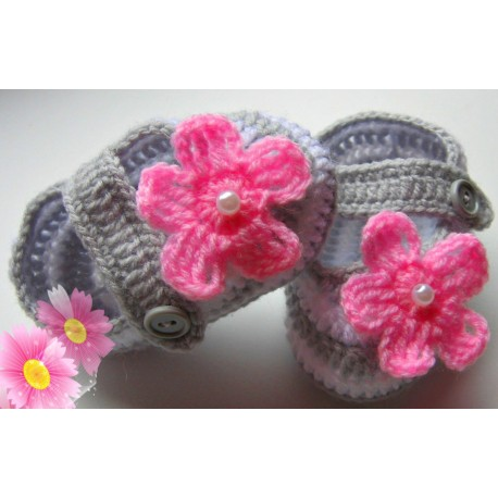 Crochet Hand Made Shoes Olifashionkids