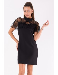 SOKY SOKA  DRESS BLACK 49007-1