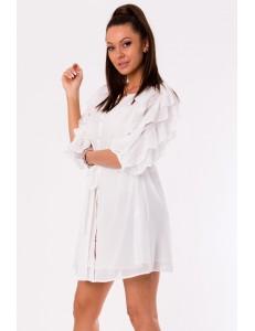 DRESS -WHITE 48026-3