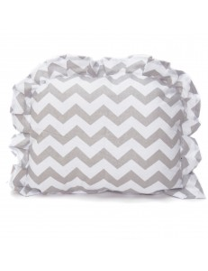 Chevron pram crib pillow