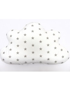 Cloud with stars pillow