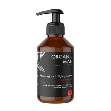 Regenerating intimate hygiene cleansing lotion Organic Man