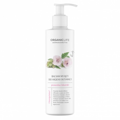 Cleansing lotion for intimate hygiene