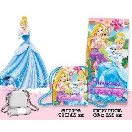 Cinderella & Rapunzel towel
