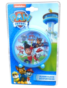 Paw Patrol alarm clock