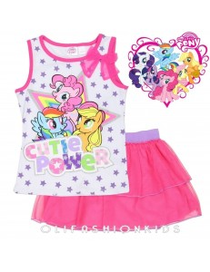 My Little pony 2Pcs Top Skirt