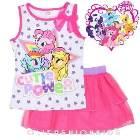 My Little pony 2Pcs Top Skirt