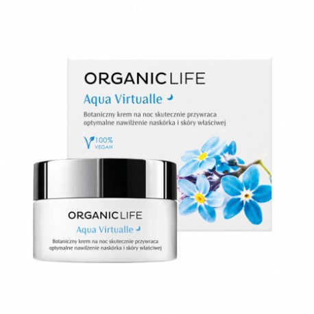 Aqua virtualle night moisturizing cream