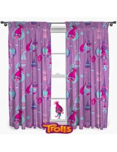 Trolls curtains set