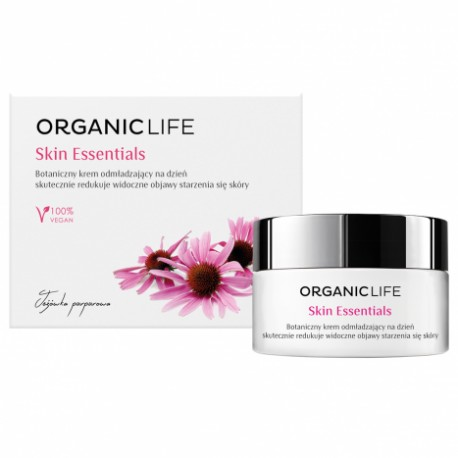 Skin Essentials botanical rejuvenating day cream