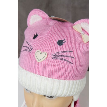 Kitty hat and scarf