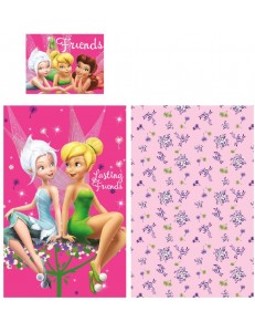 Disney Tinkerbell cot bed bedding set