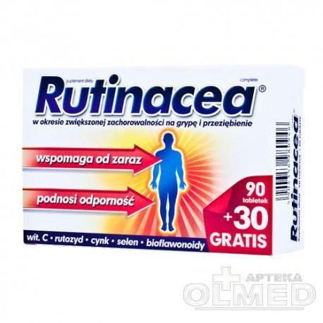 RUTINACEA COMPLETE - 120 tabletek