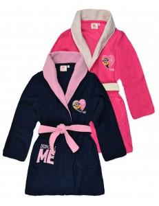 Minions girls bath robe dressing gown
