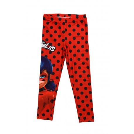 Miraculous Lady bug girls leggings