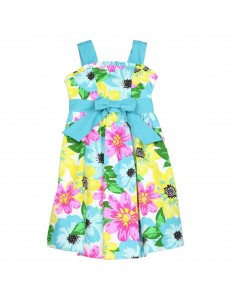 Floral Paplin Dress