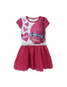 Dream Works Trolls Poppy Girls dress
