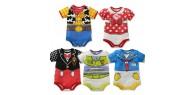 Baby boys girls bodysuit short sleeve