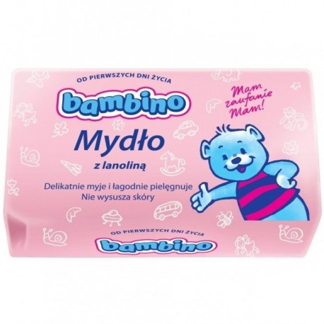 BAMBINO soap with lanolin for infants and children