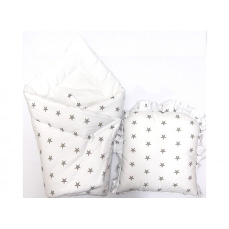 Baby wrap swaddle with pillow