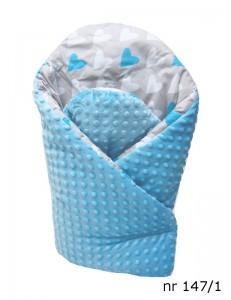 Baby wrap swaddle minky