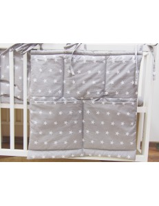 Cot bed organizer