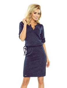 Agata navy dress