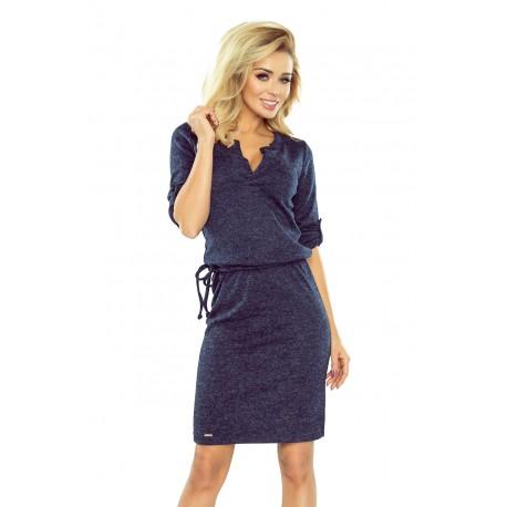 Agata navy dress