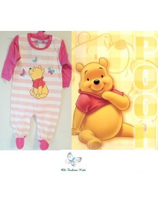 Winnie The Pooh Baby Girls Romper