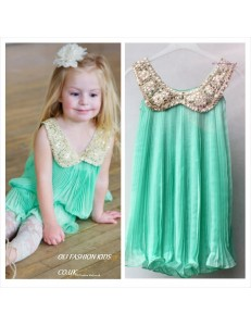 Chiffon girls dress