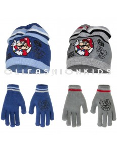 6f806b98f MARIO WINTER SET HAT & GLOVES