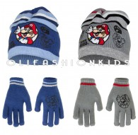 MARIO WINTER SET HAT & GLOVES