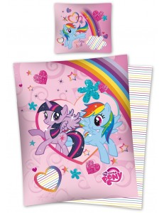 My little pony rainbow bedding set