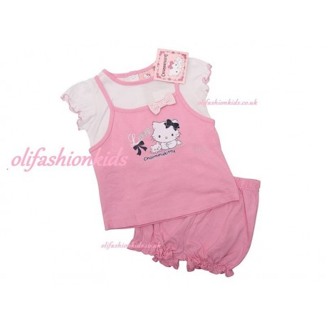 Baby girls Charmmy Kitty  summer set