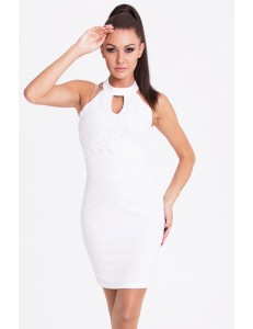 EMAMODA DRESS - WHITE 17011-1