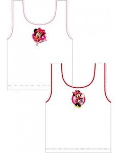 Minnie mouse cotton vests