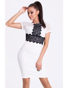 EMAMODA DRESS - WHITE 17009-2