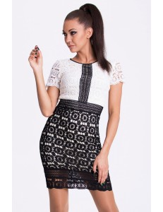EMAMODA DRESS - WHITE 17007-4