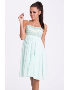 EVA & LOLA DRESS - pistachio 17001-5