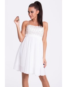 EVA & LOLA DRESS - WHITE 17001-4