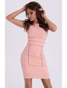 EMAMODA DRESS - PEACH 15010-4