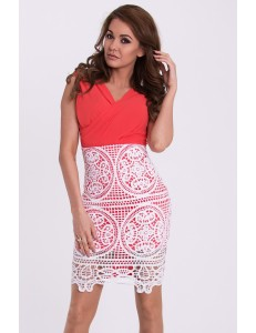 EMAMODA DRESS - Watermelon 15005-2