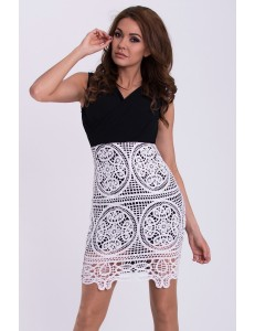 EMAMODA DRESS - BLACK 15005-1