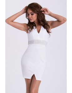 EMAMODA DRESS - WHITE 15004-3